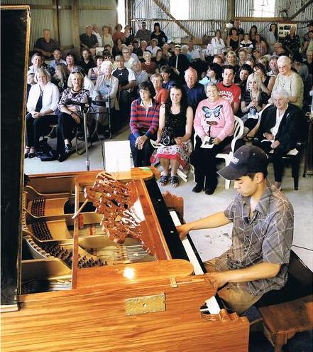 Worlds longest piano
